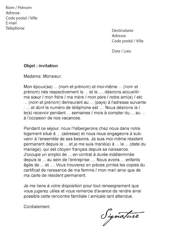 modele de lettre de refus d u0026 39 invitation