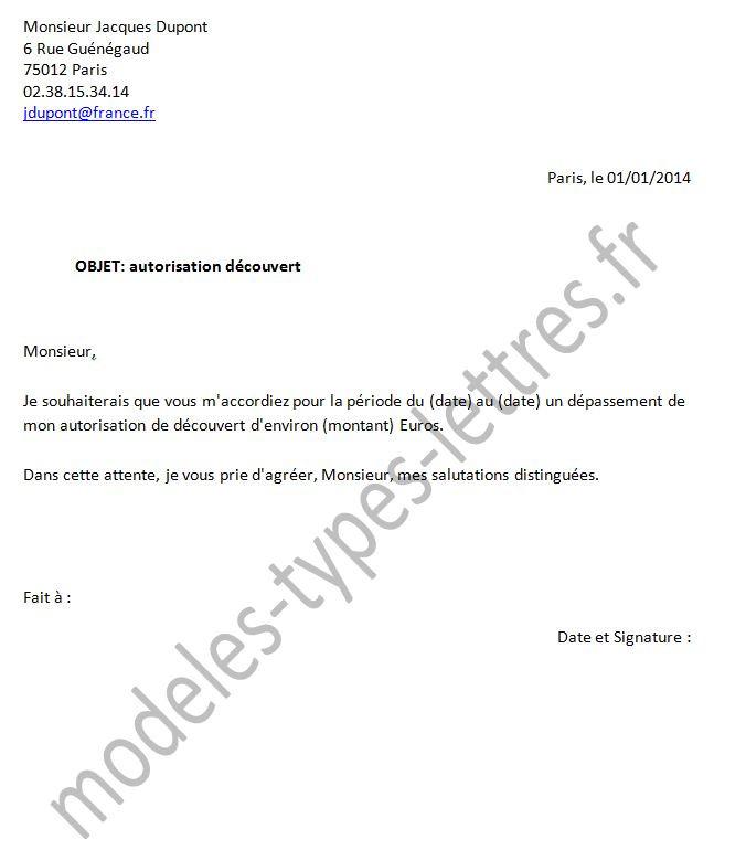 modele de lettre pour remboursement de frais bancaire
