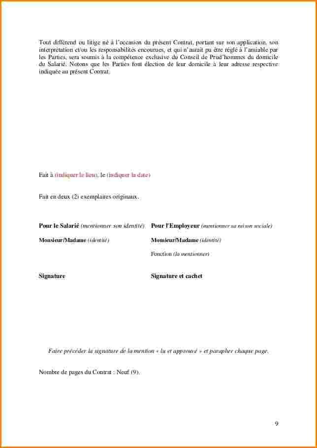 modele de lettre rupture conventionnelle gratuit