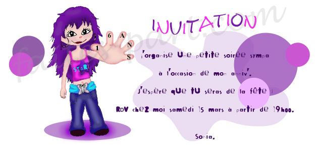 Modele De Texte D Invitation D Anniversaire Modele De Lettre Type
