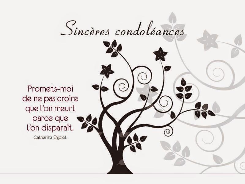 modele de texte de condoleances gratuit