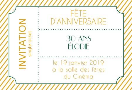 modele de texte pour carte d invitation anniversaire