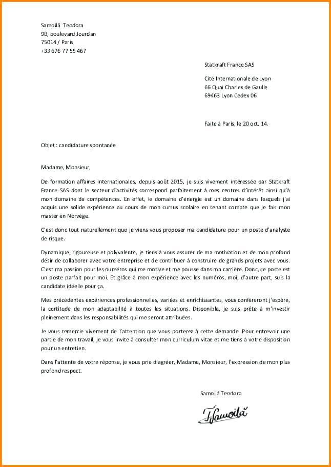 modele gratuit de lettre de reclamation