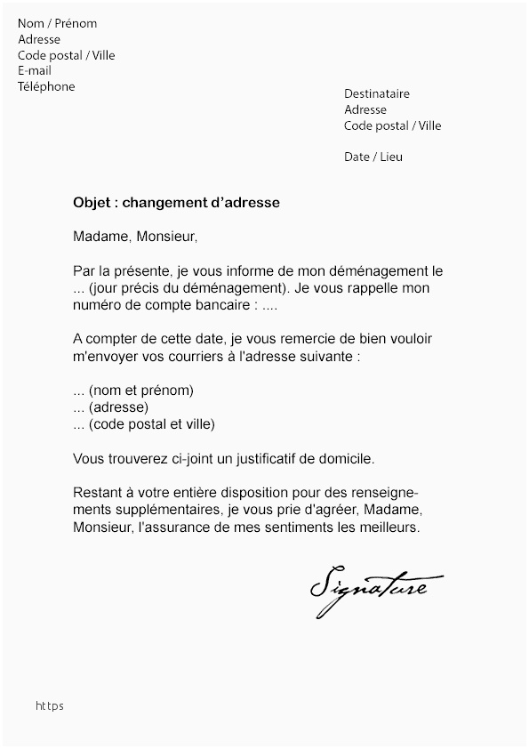 lettre confirmation inscription formation