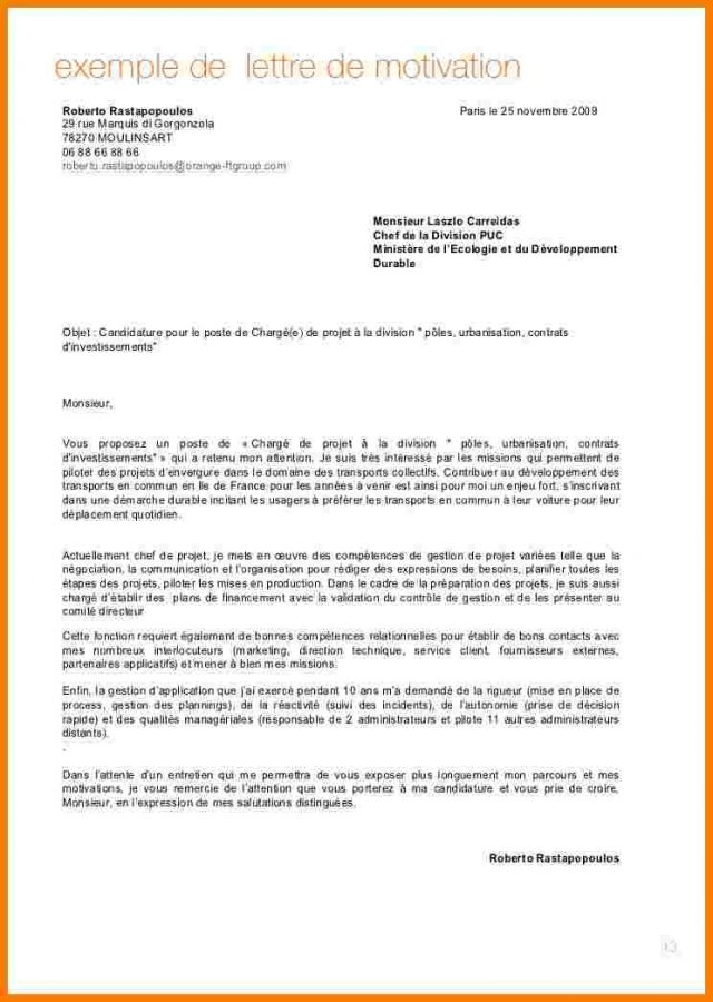 lettre de motivation ingenieur commercial