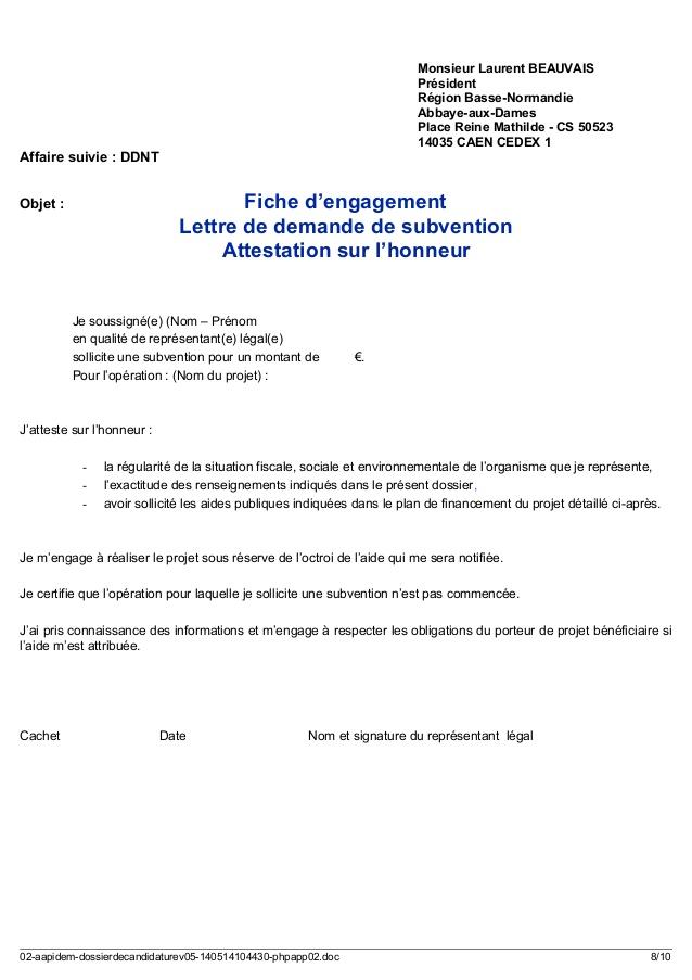modele lettre engagement de paiement