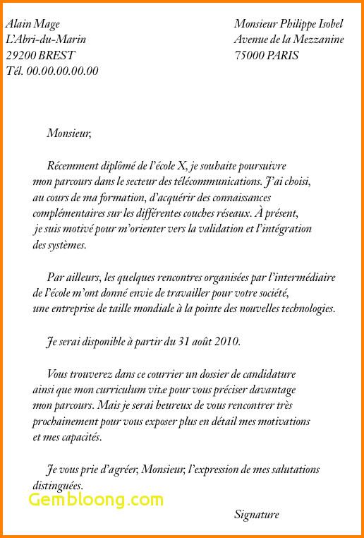 modele lettre inscription ecole maternelle
