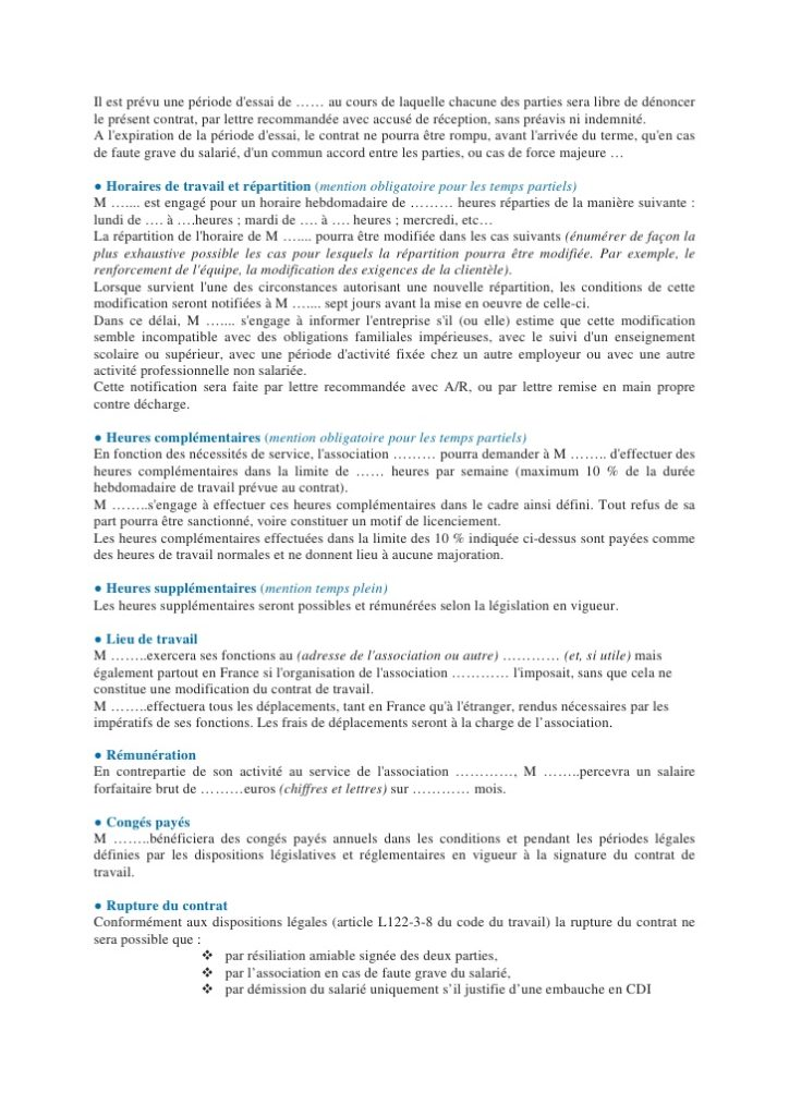 Exemples De Lettres Types Gratuites Modele De Lettre Type