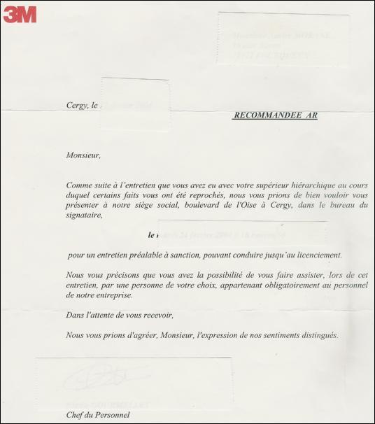 b35cb8eb3fb modele lettre licenciement economique - Modele de lettre type