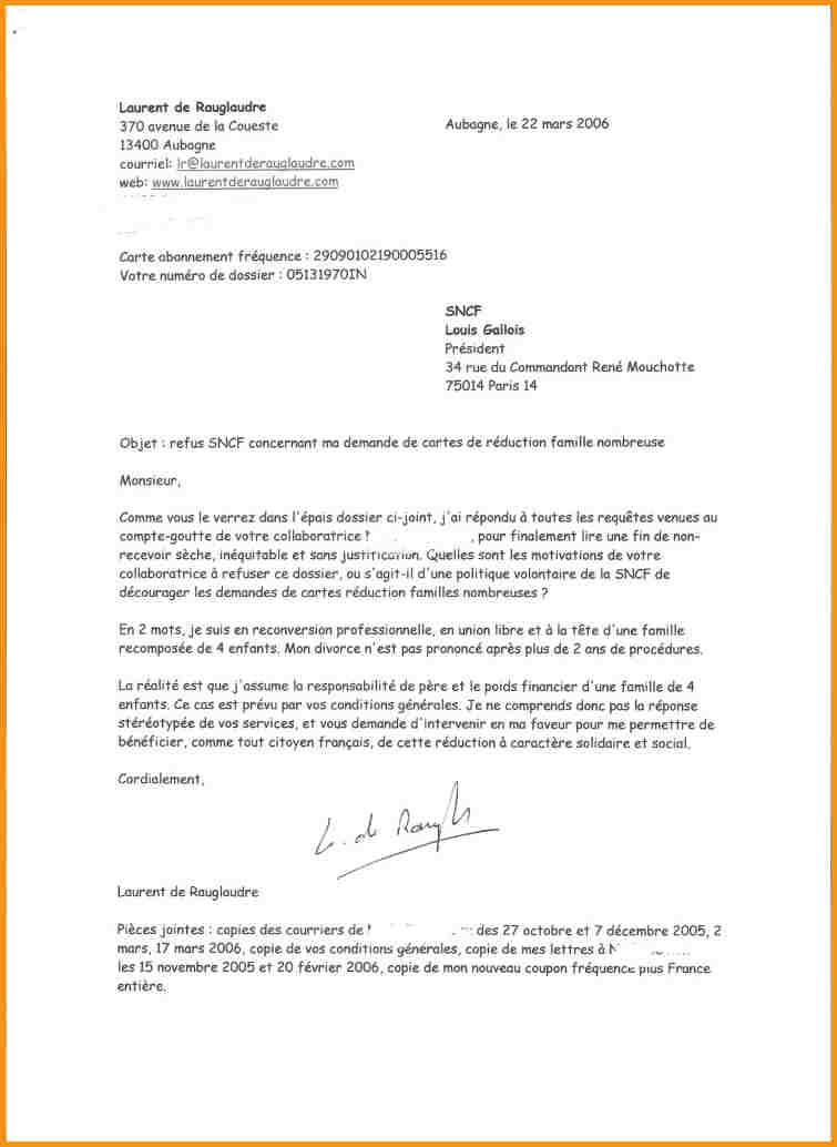 modele lettre officielle gratuit
