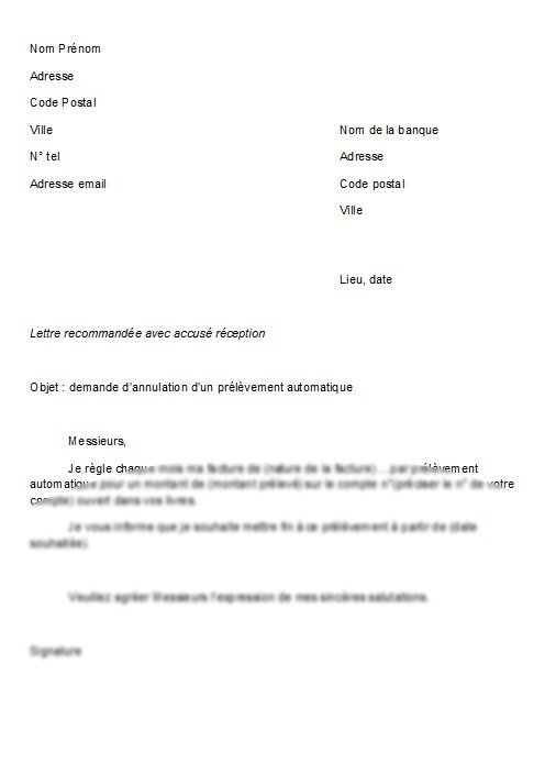 modele lettre preavis appartement - Modele de lettre type