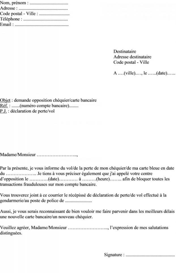 modele lettre procuration banque