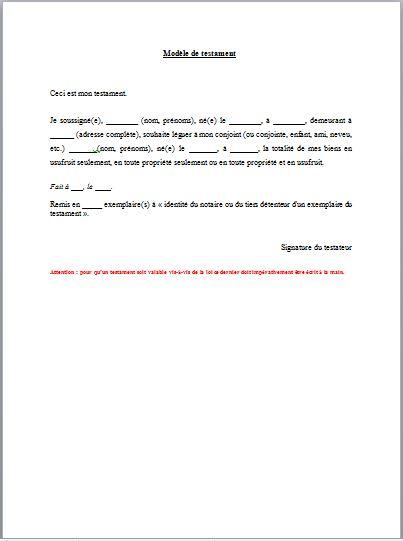 modele lettre procuration notaire
