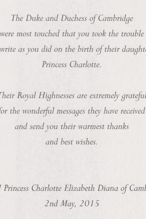 naissance lettre