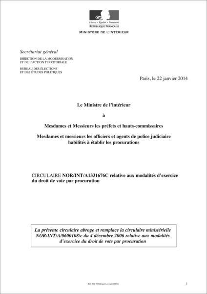 procuration administrative exemple - Modele de lettre type