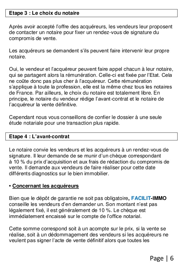 procuration notariale