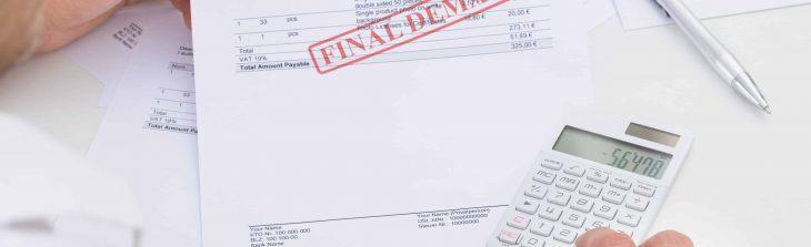 reclamer une facture impaye