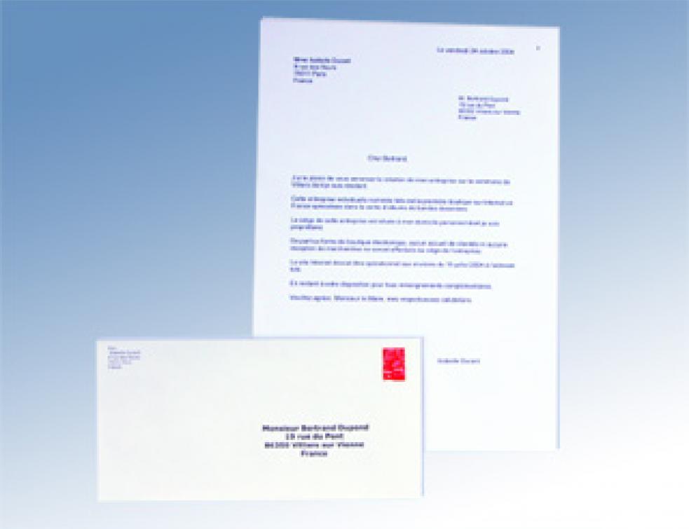 rediger une lettre de contestation