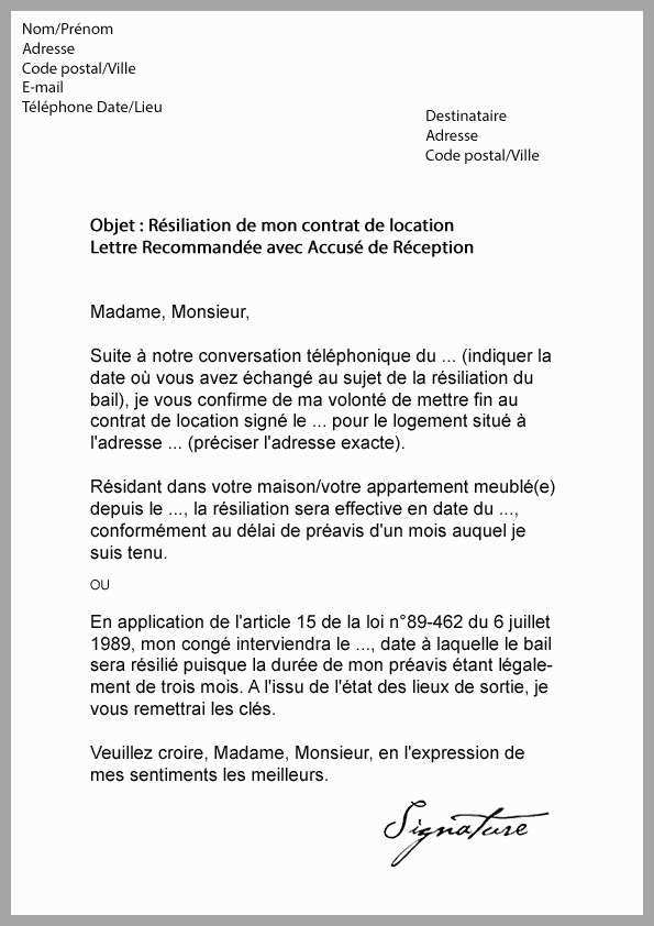 exemple de justificatif de domicile