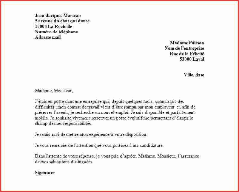 resiliation mandat exclusif lettre type - Modele de lettre type