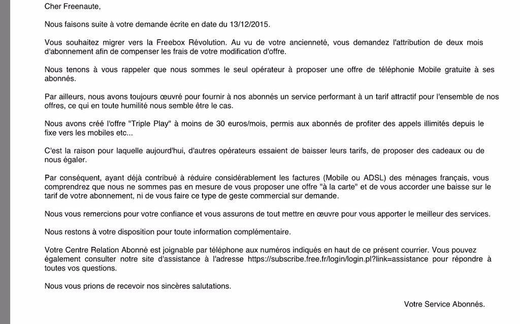 resiliation numericable demenagement lettre