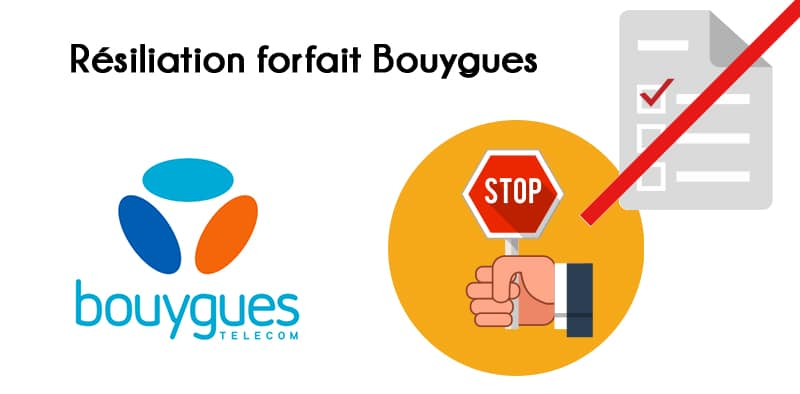 resilier forfait telephone bouygues