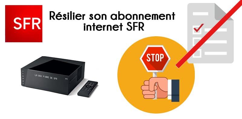 resilier internet sfr
