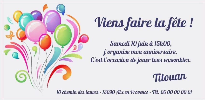 site d invitation gratuit