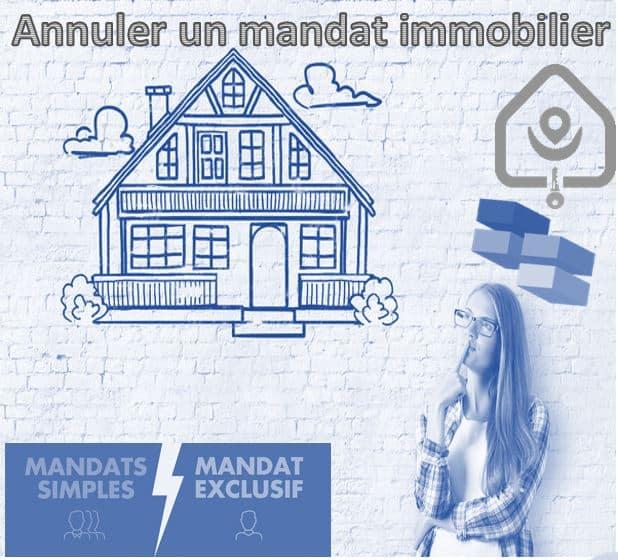 annuler mandat de vente immobilier