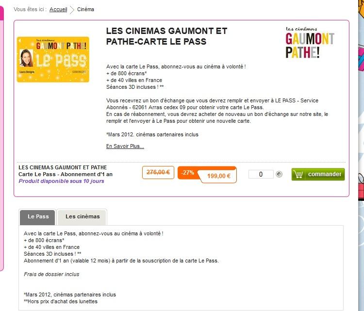 carte le pass gaumont resiliation