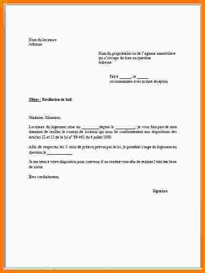 certificat de logement a titre gratuit - Modele de lettre type