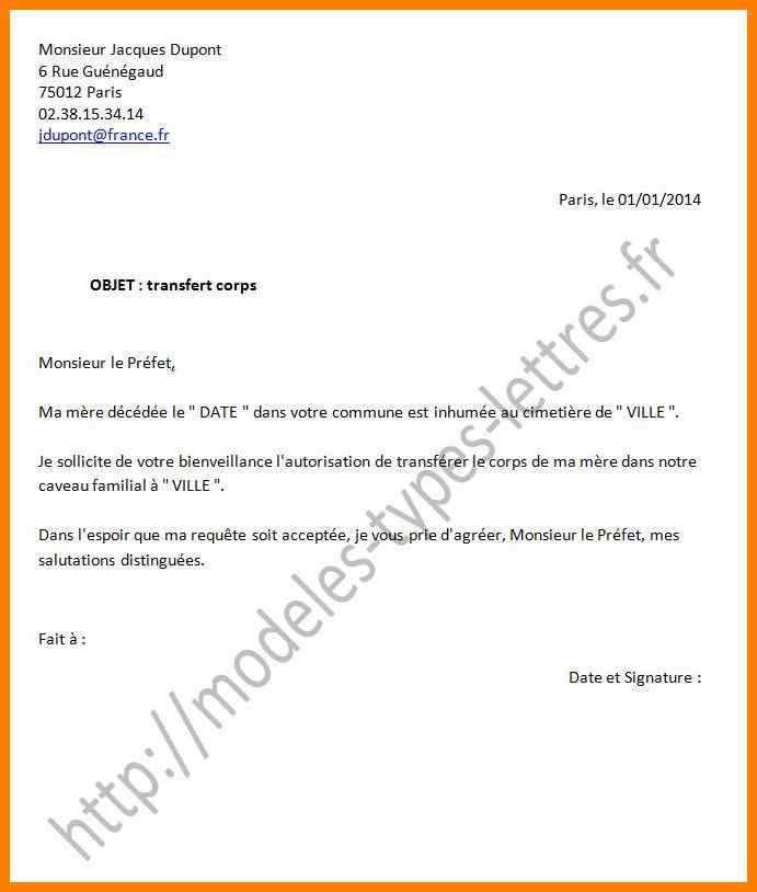 comment rediger lettre d autorisation