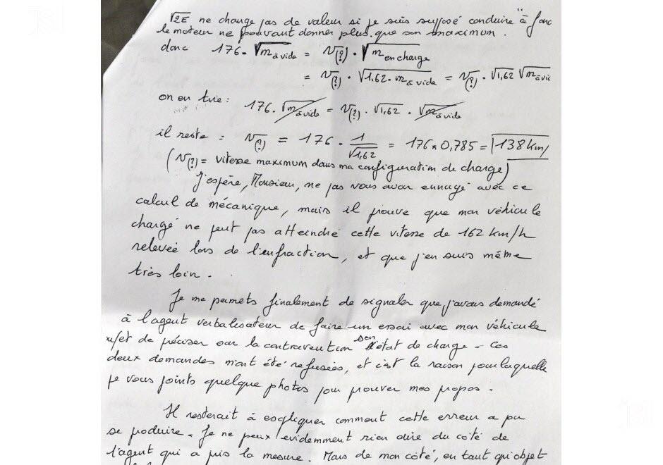 contestation amende lettre type