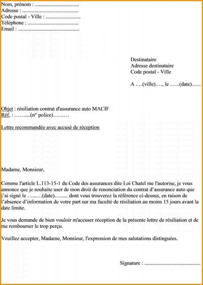 courrier annulation pacs - Modele de lettre type