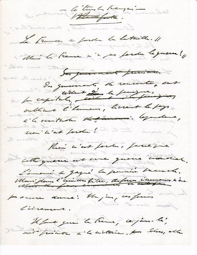 cv manuscrit ou informatique