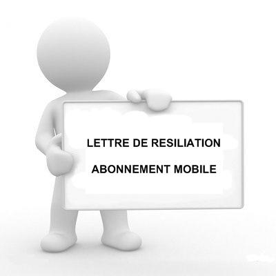 demande resiliation abonnement telephonique - Modele de lettre type