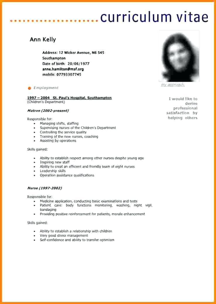 exemple cv pdf gratuit - Modele de lettre type
