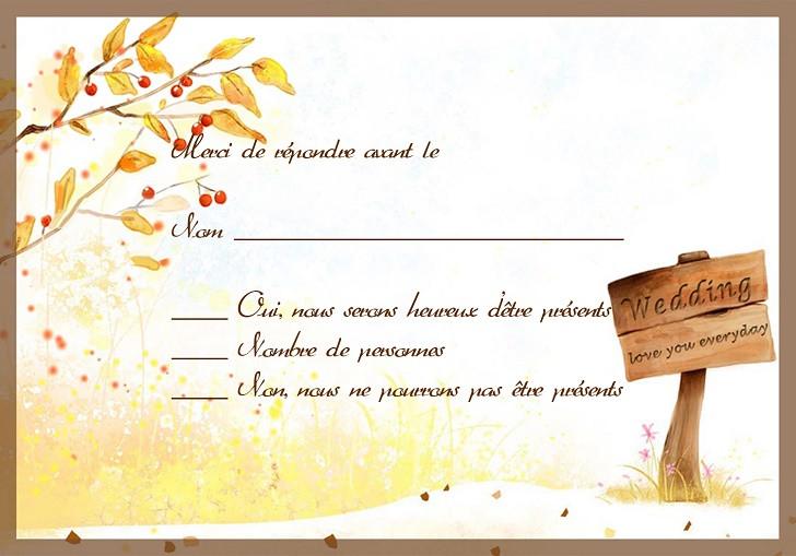 exemple de carte d invitation gratuite - Modele de lettre type