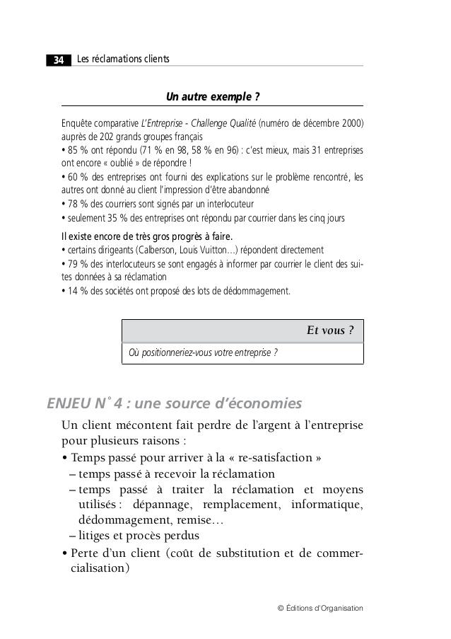exemple de mail de reclamation - Modele de lettre type