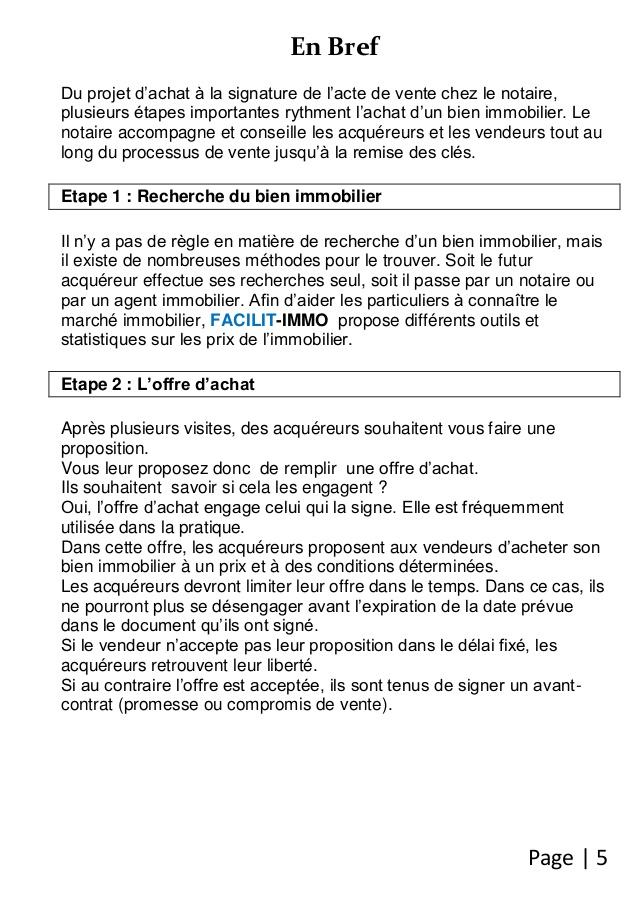 formulaire d'attestation d'achat notaire