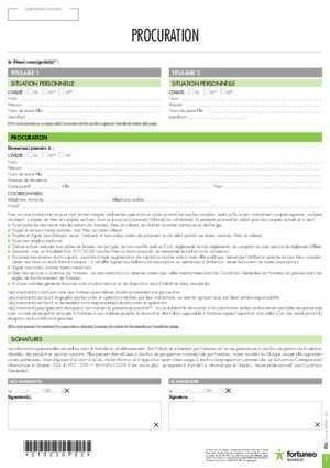 formulaire procuration la poste - Modele de lettre type