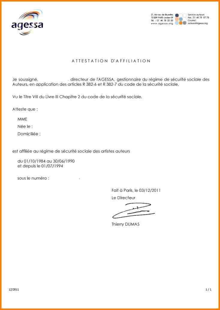 formule attestation - Modele de lettre type