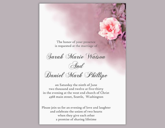 invitation modele word - Modele de lettre type