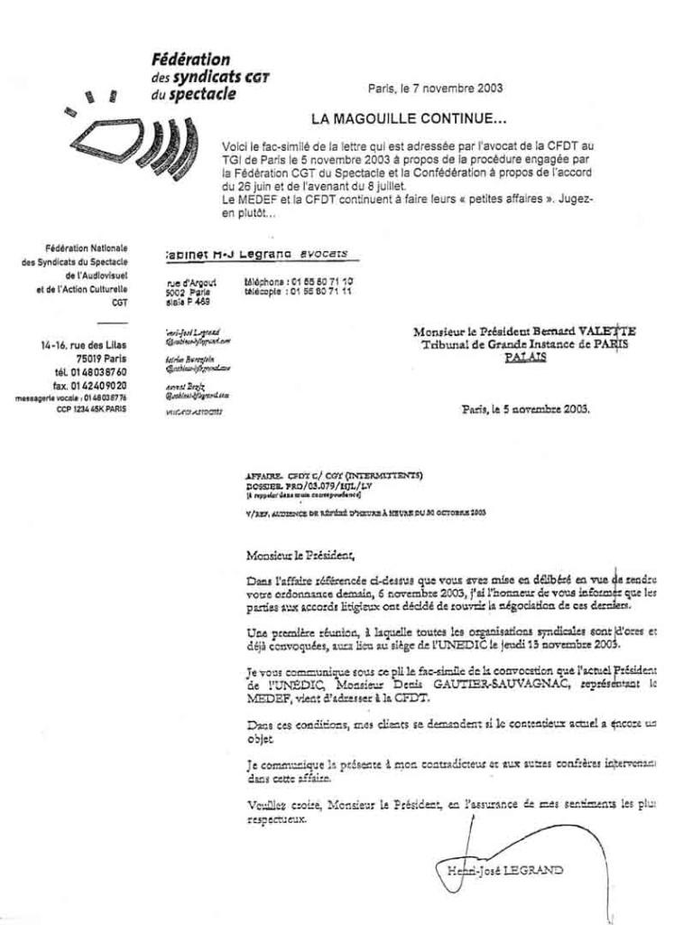 lettre a un avocat modele