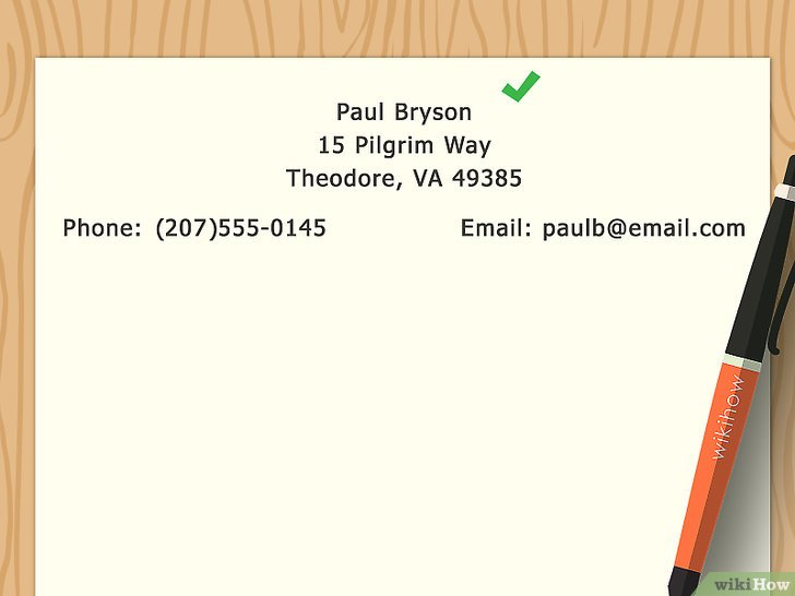 lettre confirmation de reservation