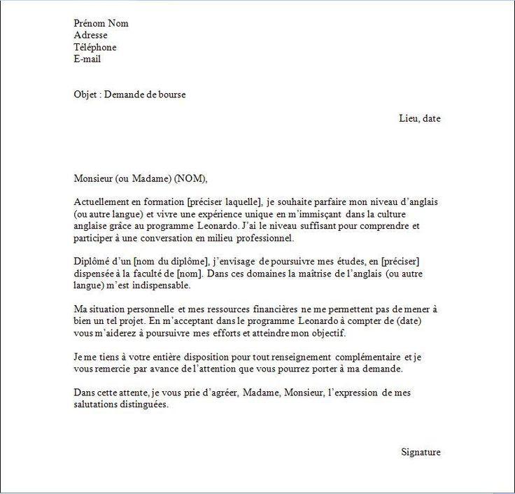 lettre confirmation inscription ecole