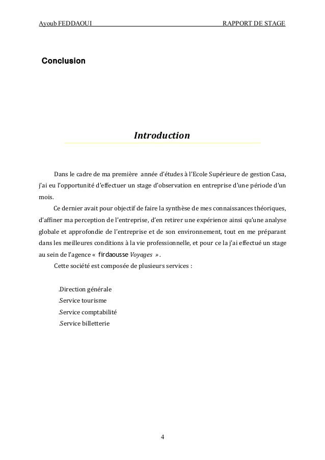 lettre d'arret de stage - Modele de lettre type