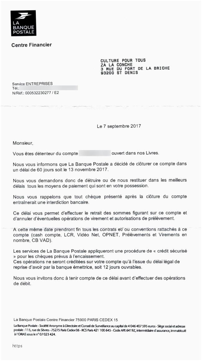 lettre d'opposition a un prelevement