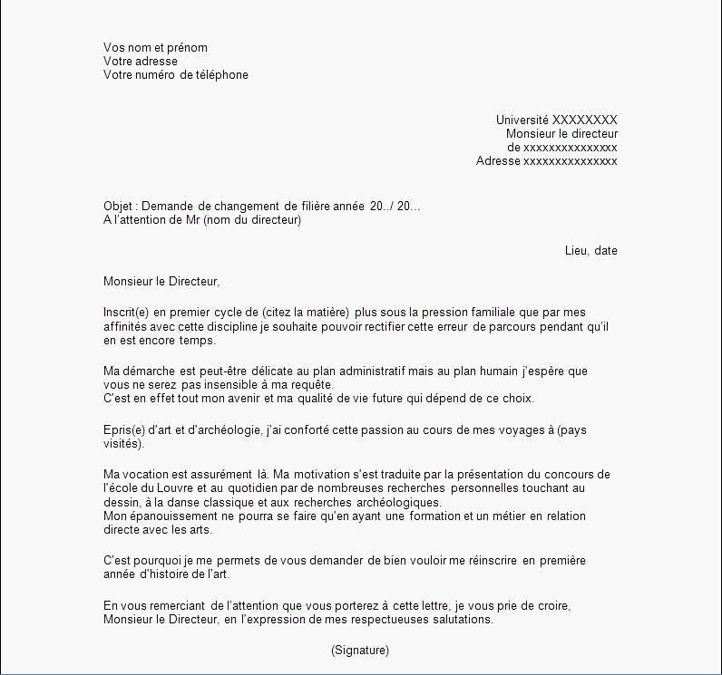 lettre de demande de livraison - Modele de lettre type