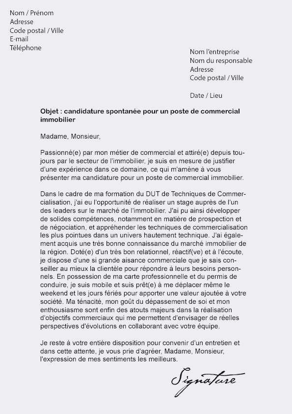 lettre de motivation demandeur d'emploi - Modele de lettre ...